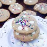 Cheesecake Sprinkle Cookies