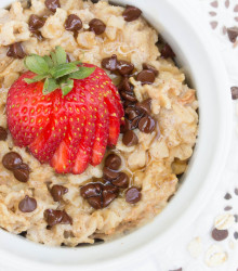 Strawberry Chocolate Chip Oatmeal