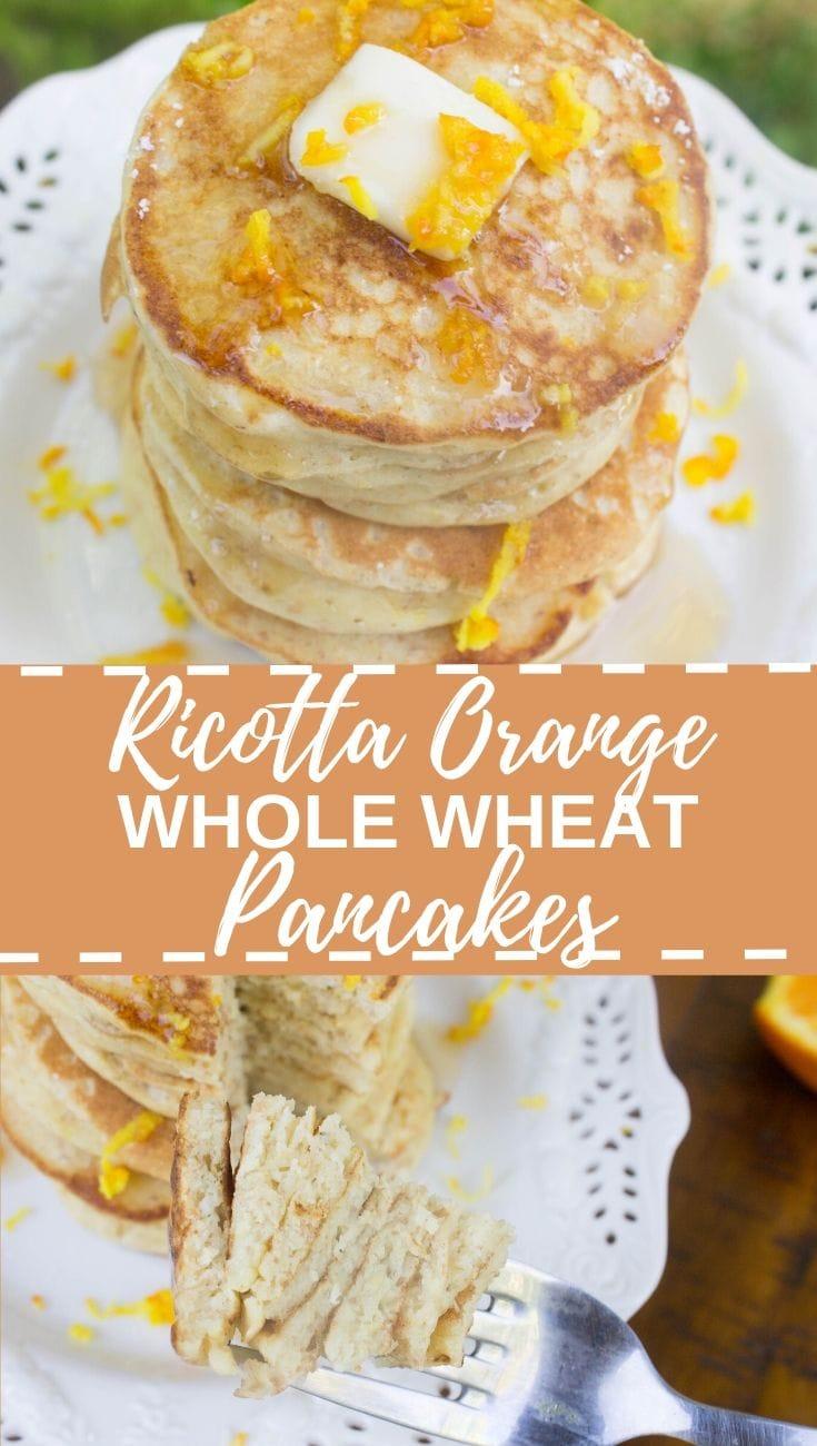 Ricotta Orange Pancakes