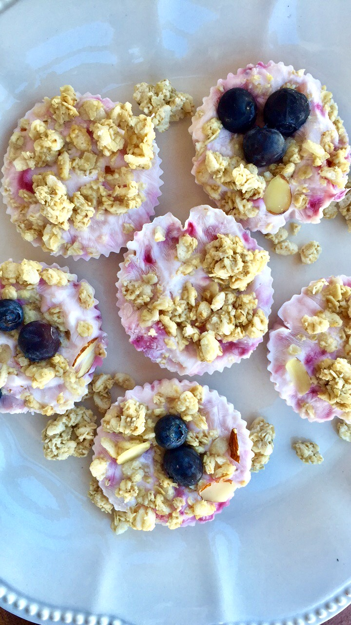 Breakfast Yogurt Granola Cups