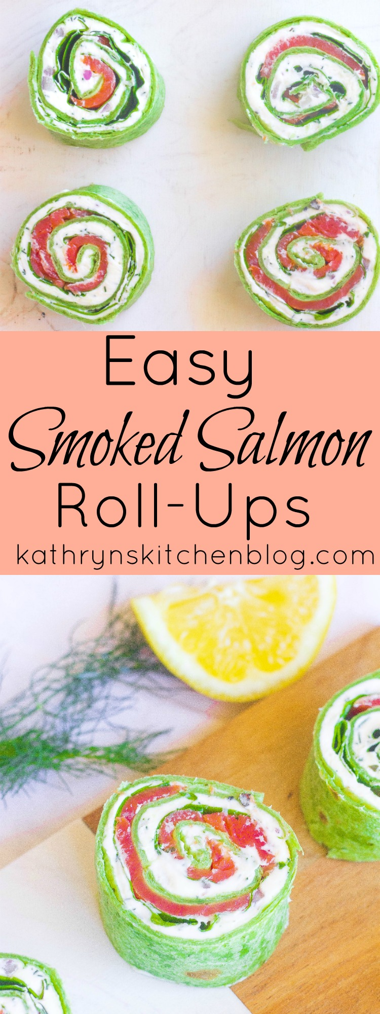 Easy Smoked Salmon Roll-Ups