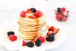 Fluffy Vanilla Yogurt Pancakes