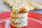 Sprinkle Pudding Cookies