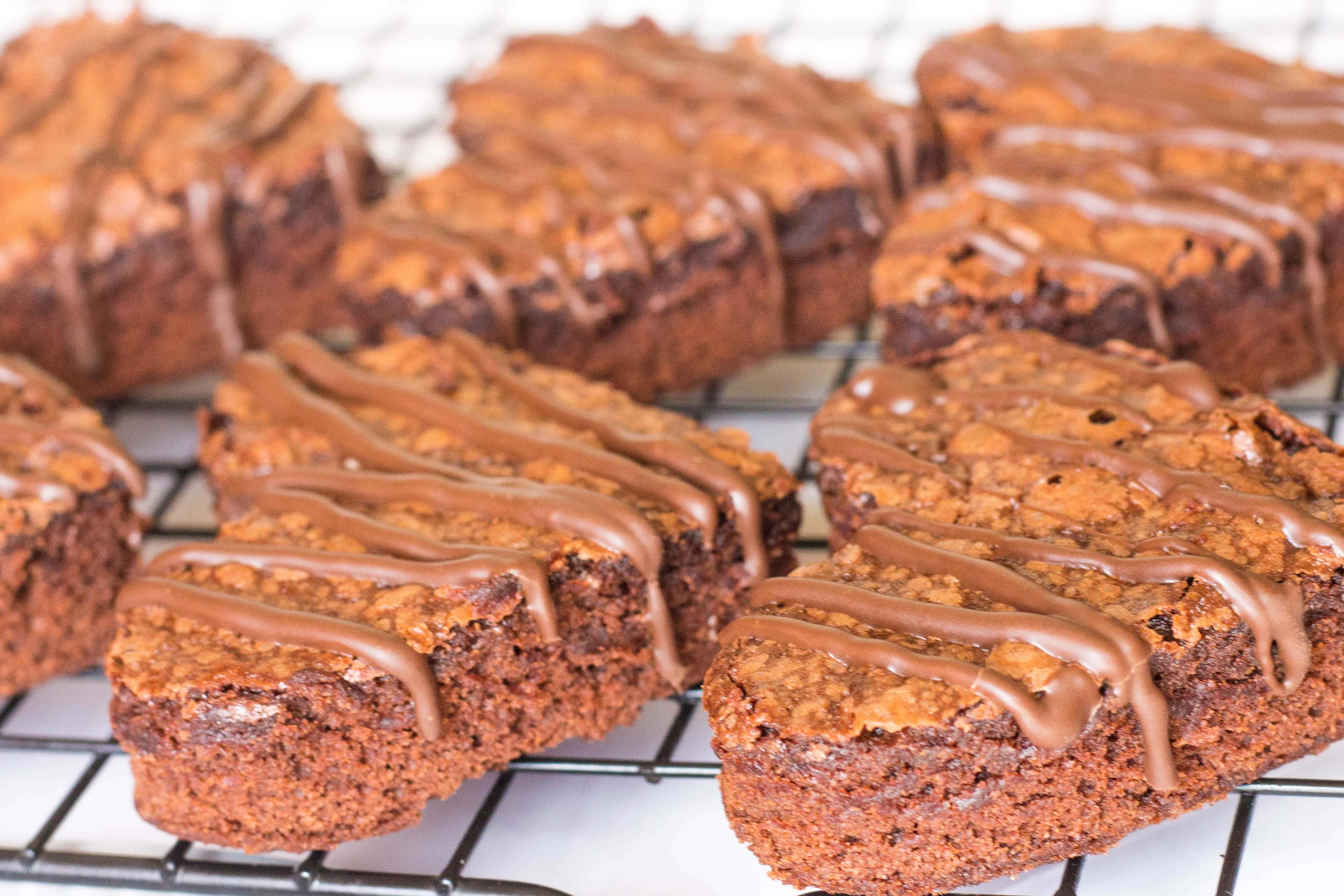 Sweetheart Brownies- Kathryn's Kitchen