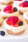 Best Ever Mini Cheesecake Bites