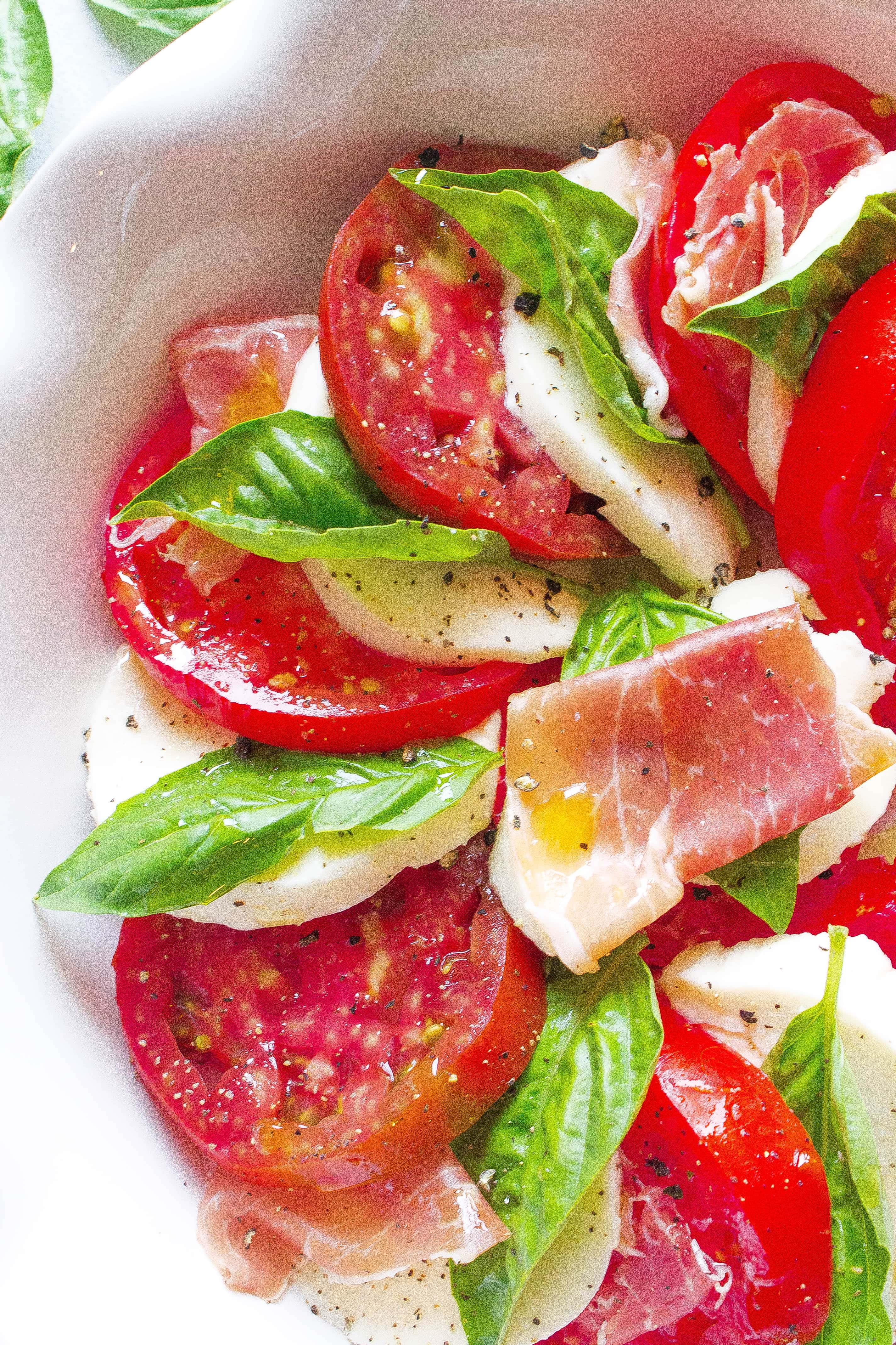 Tomato Prosciutto Caprese 1