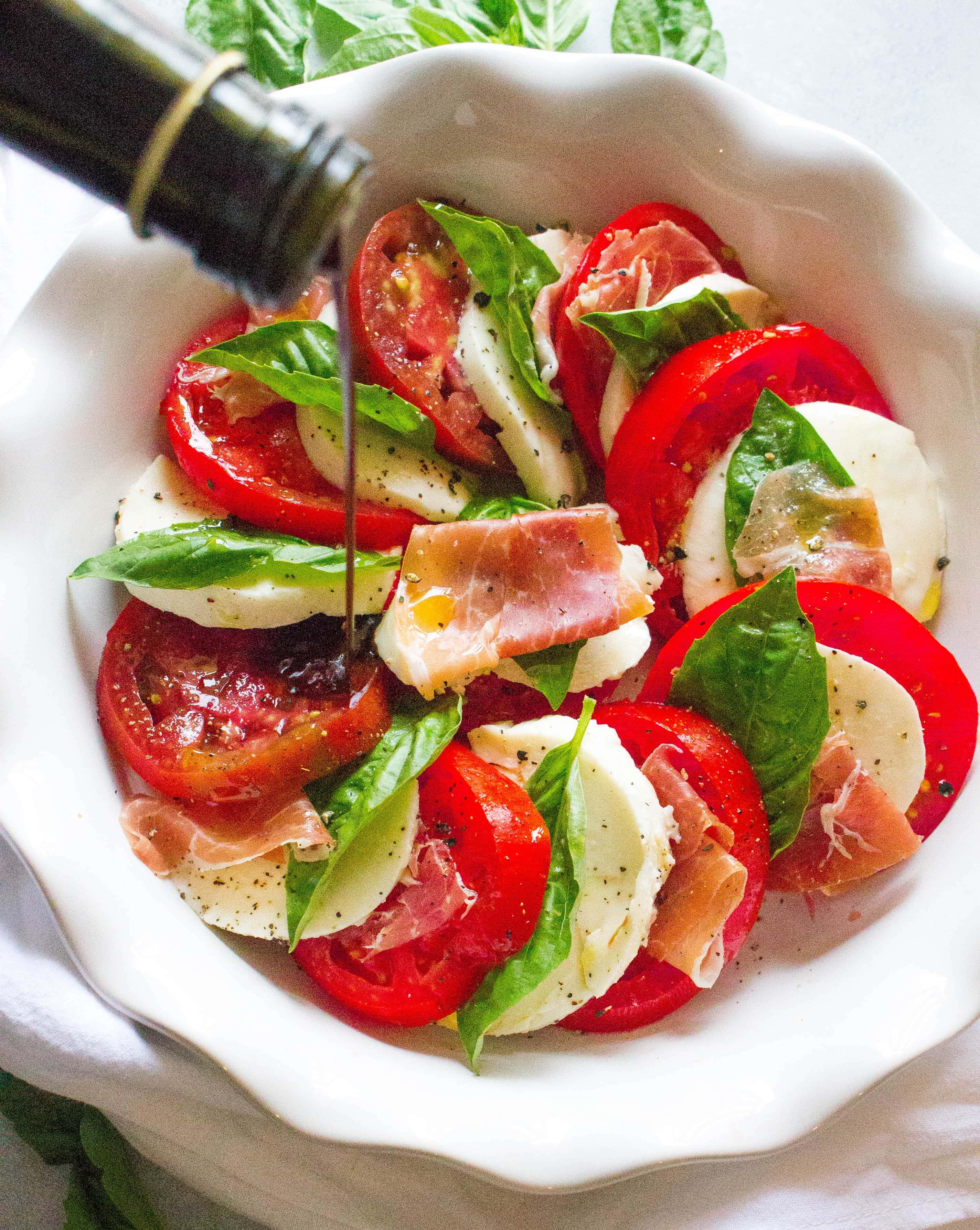 Balsamic Vinegar on Tomatoes
