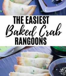 Easy Crab Rangoon