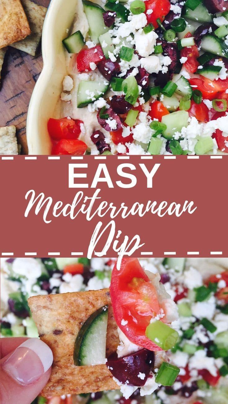 Easy Mediterranean dip