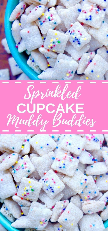 Cupcake Muddy Buddies