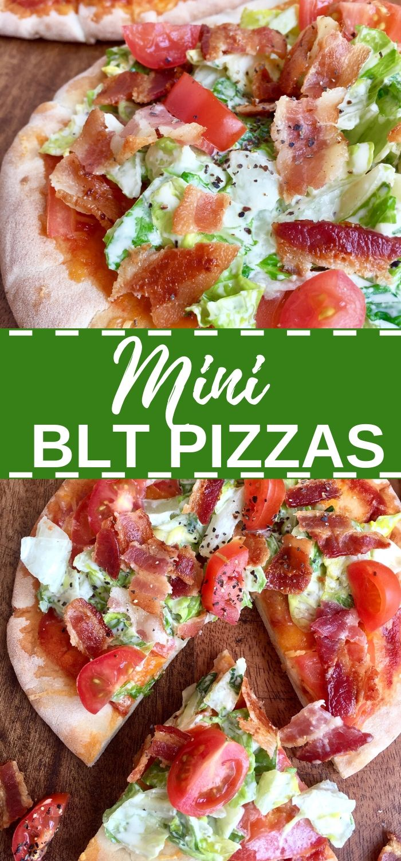 Mini BLT Pizzas