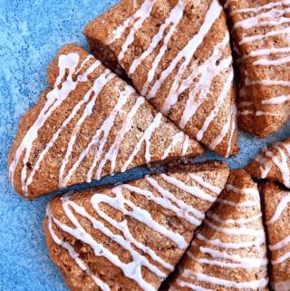 Healthy Cinnamon Roll Scones