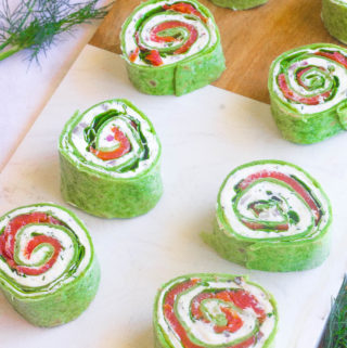 Easy Smoked Salmon Roll-Ups
