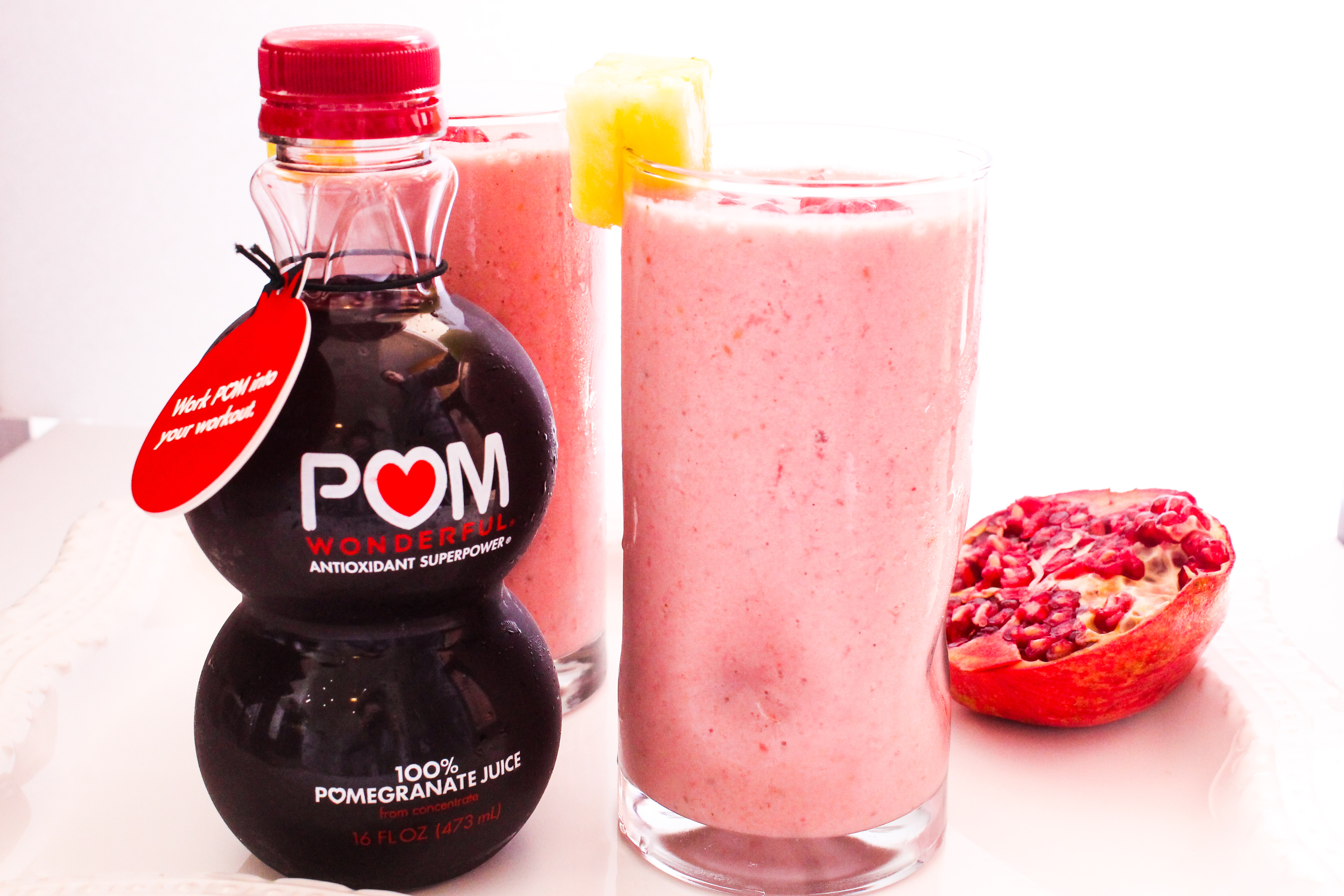 Creamy Pomegranate Power Smoothie
