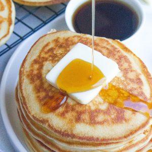 Fluffy Vanilla Yogurt Pancakes