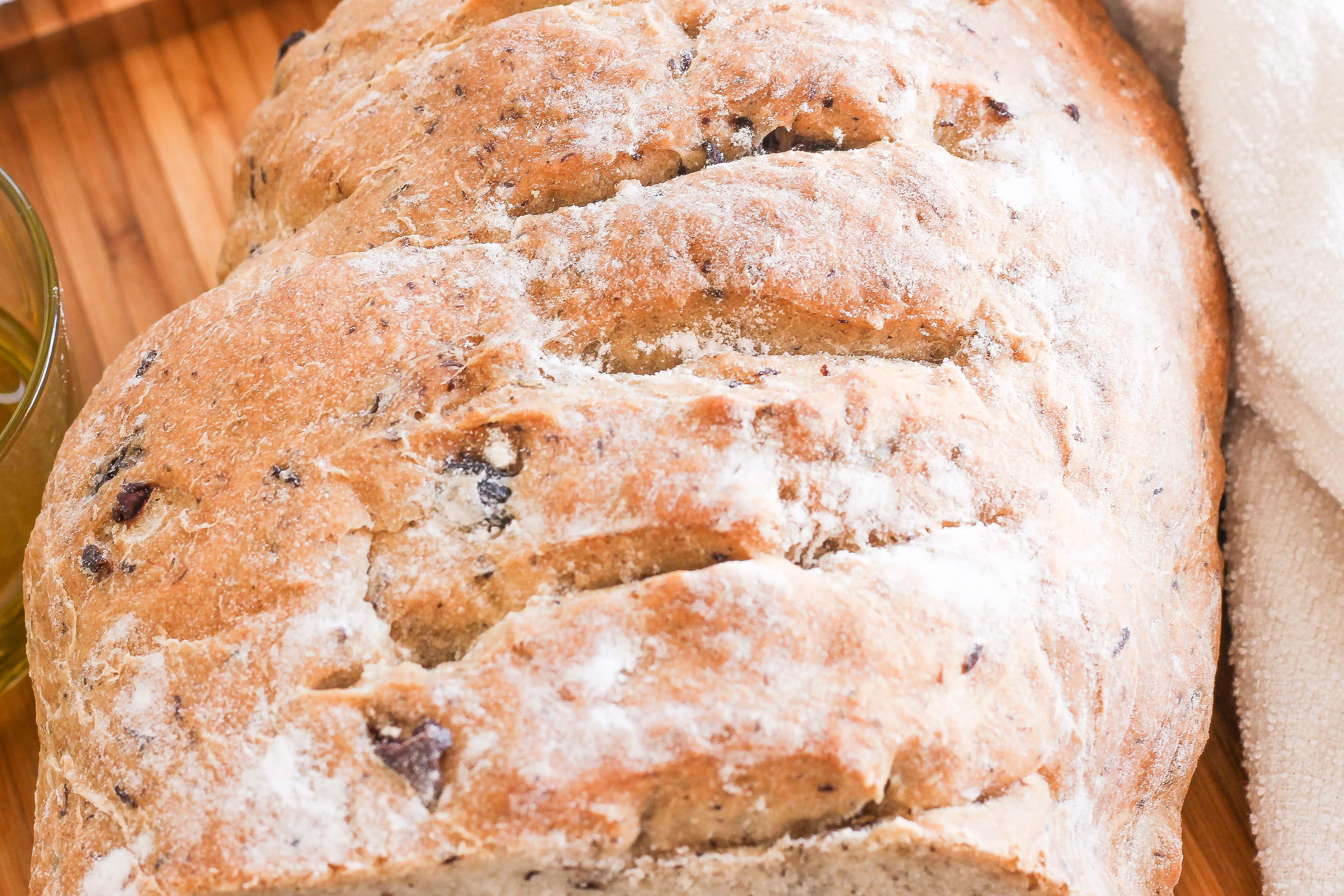 Rustic Olive Bread