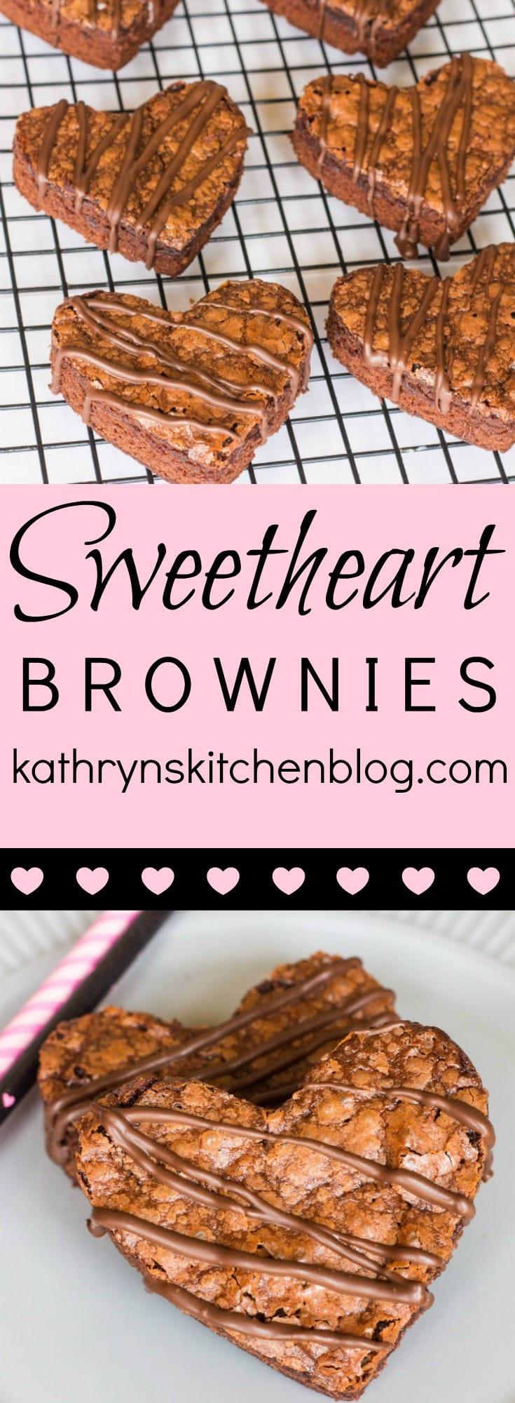 Sweetheart Brownies