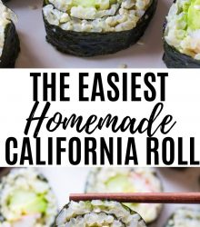 CA Roll Sushi