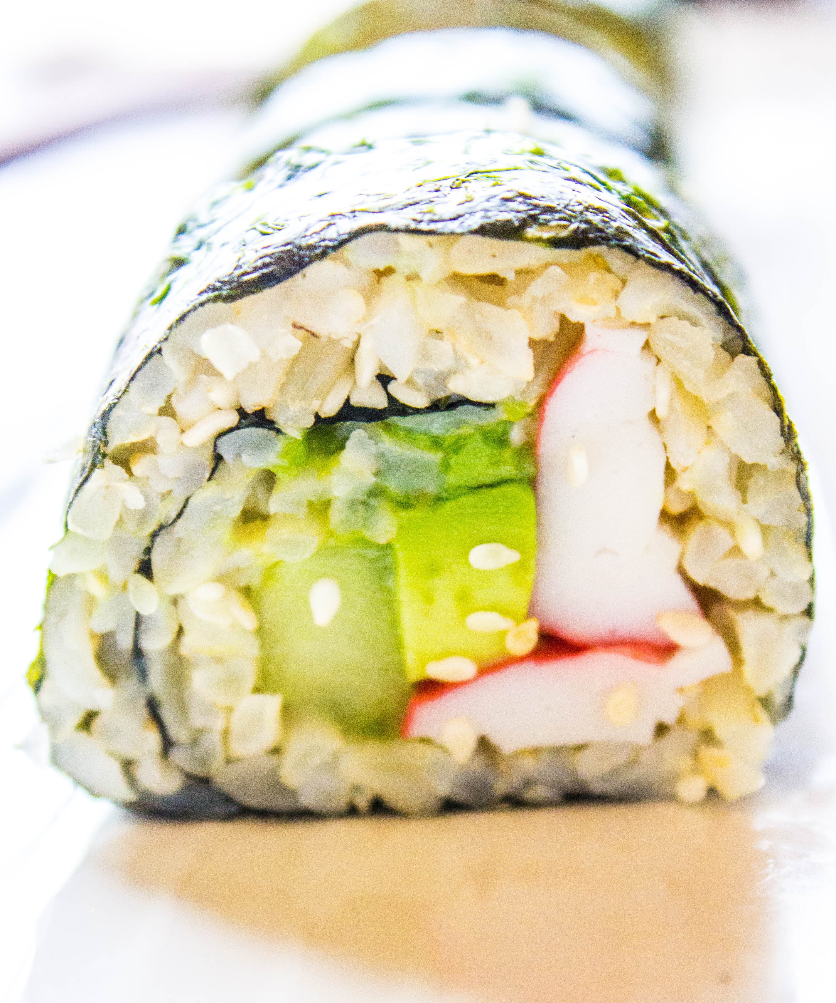 The Easiest California Roll
