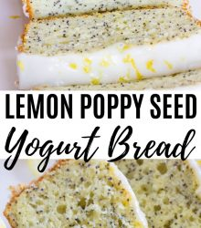 Lemon Poppy Seed Yogurt Bread