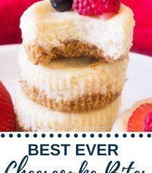 best ever cheesecake bites
