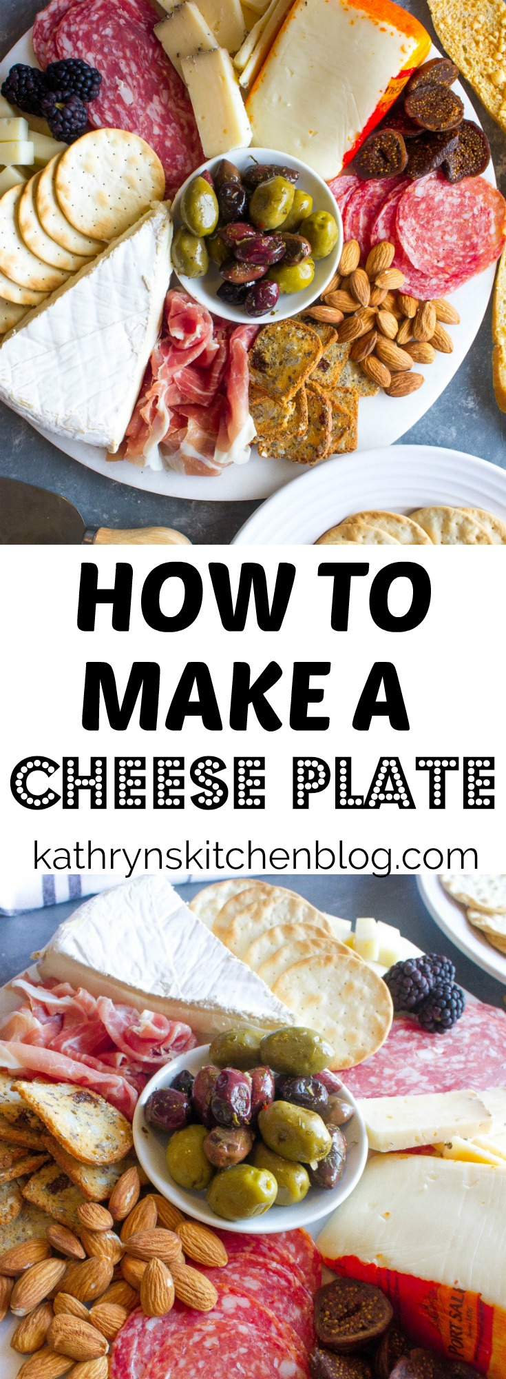 cheese plate for party