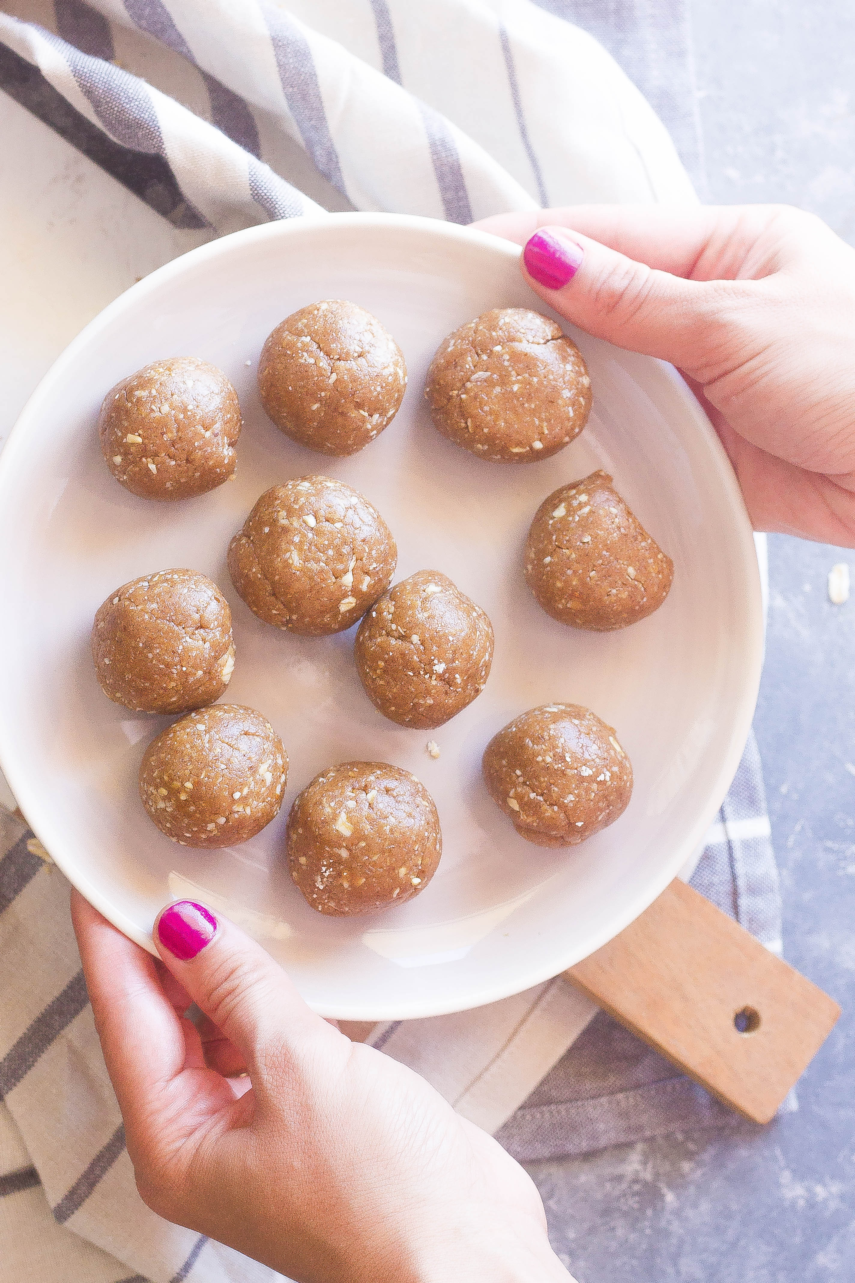 Peanut Butter Oatmeal Cookie Bliss Bites 4