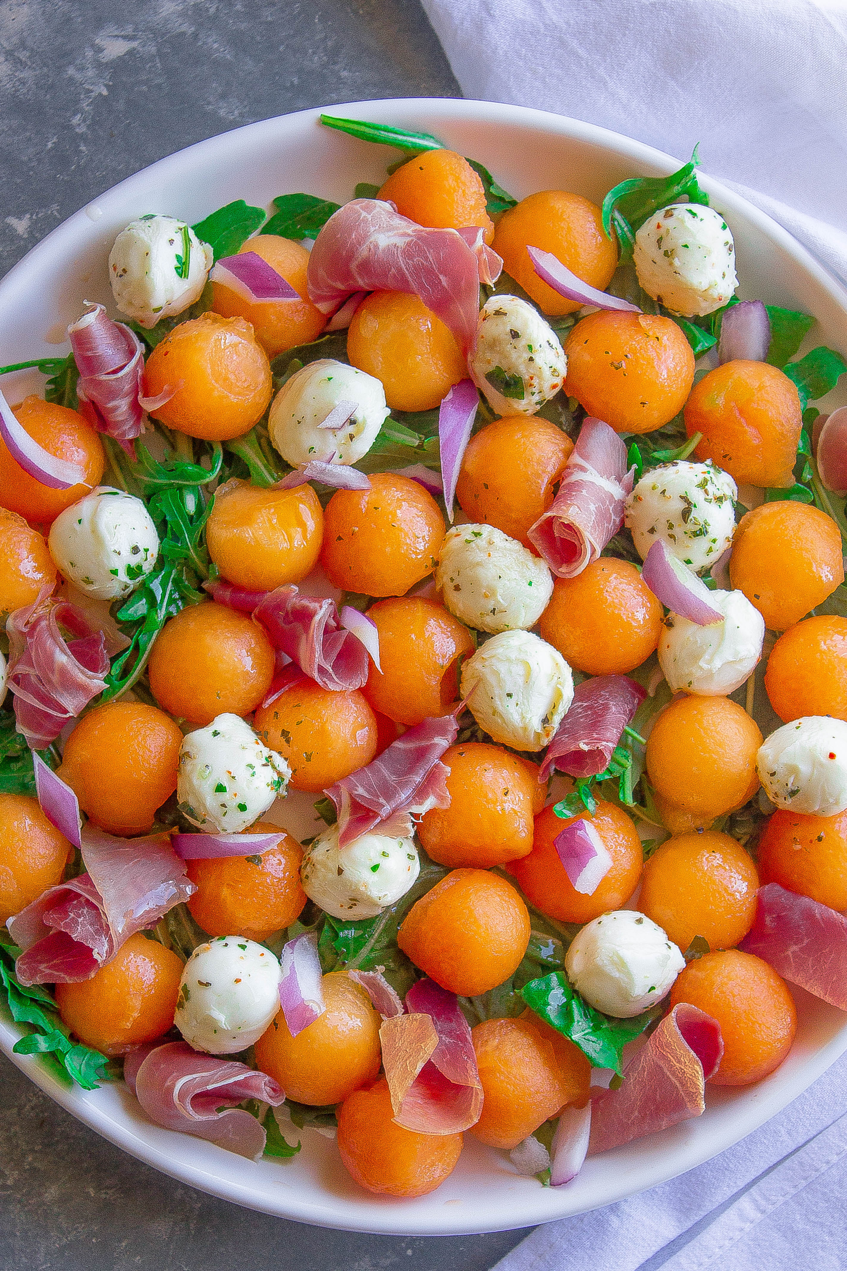 Melon Caprese Salad 2