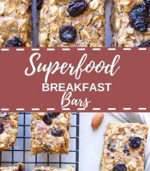 Superfood Breakfast Bars