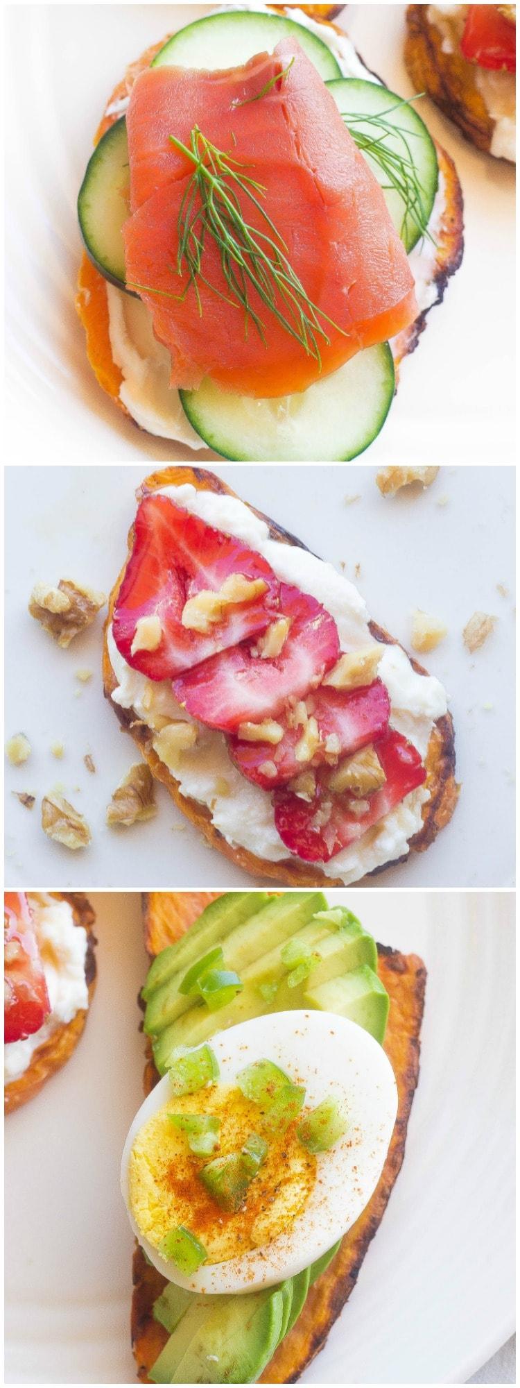 Sweet PotaTOASTS breakfast ideas