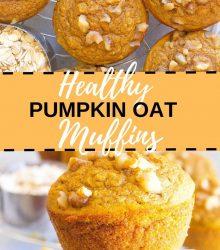 Oat Pumpkin Muffins