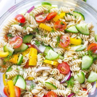 Vegetable Herb Pasta Salad