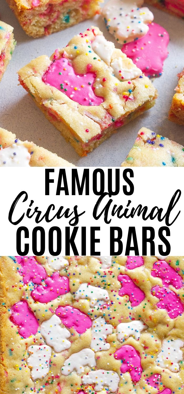 Animal Cookie Bars