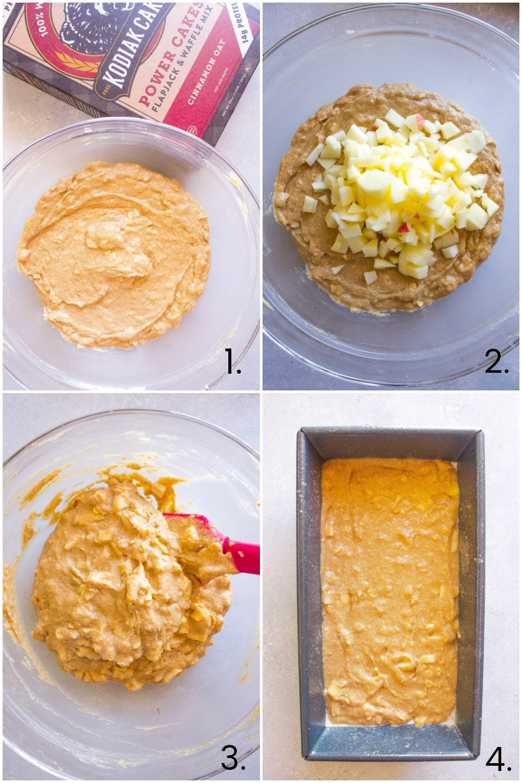 Apple Cinnamon Bread Steps