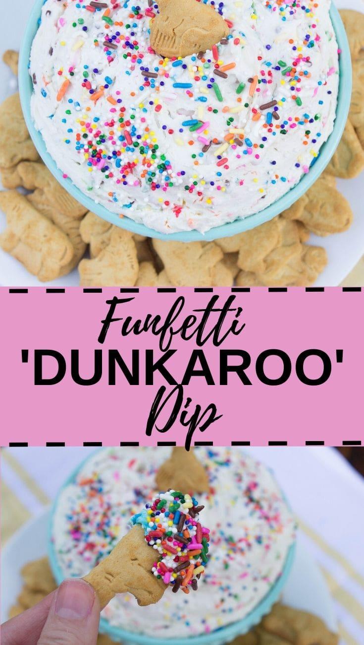 Funfetti Dunkaroo dip