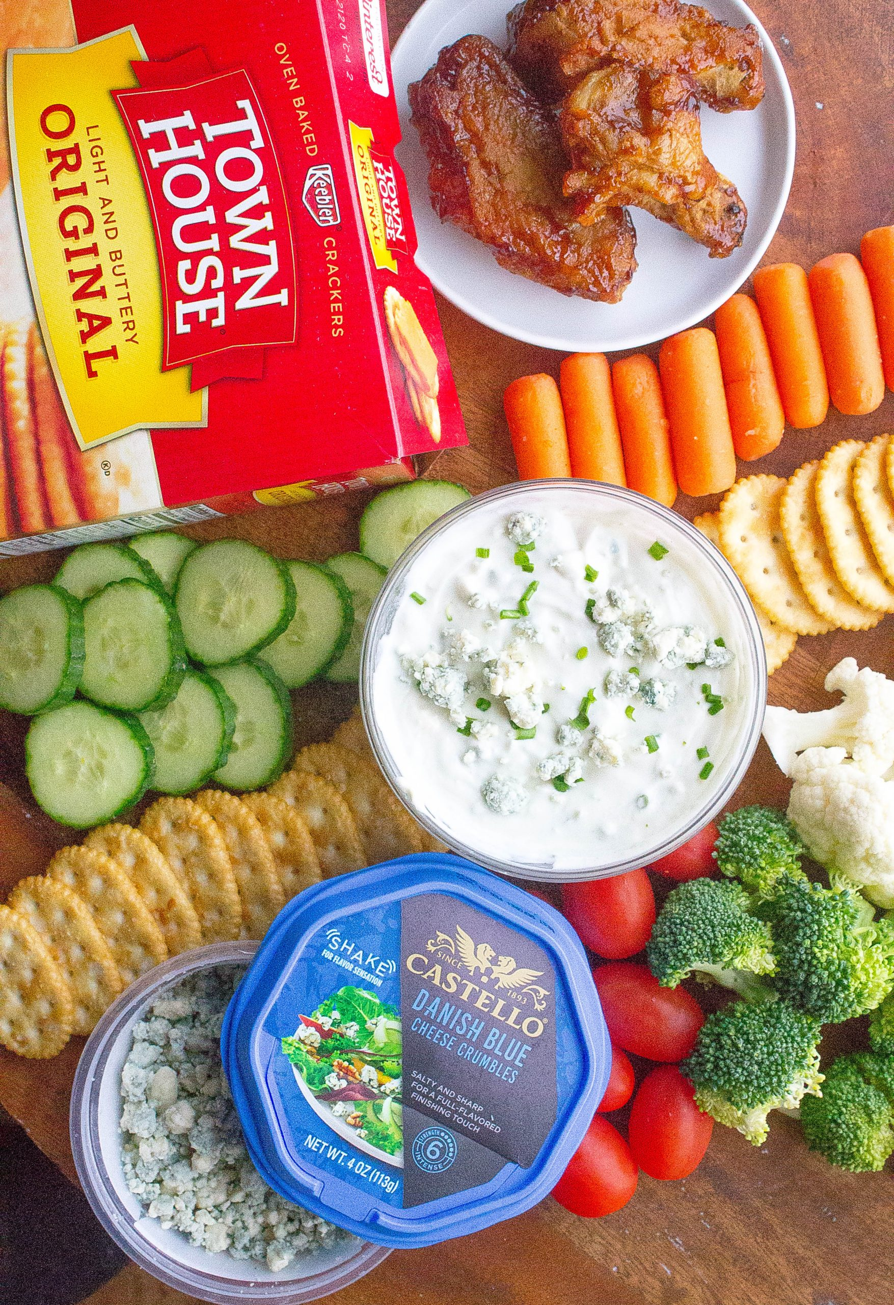 Game Day Blue Cheese Dip