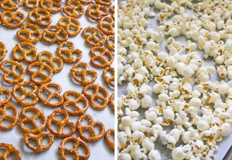 Popcorn and Pretzels