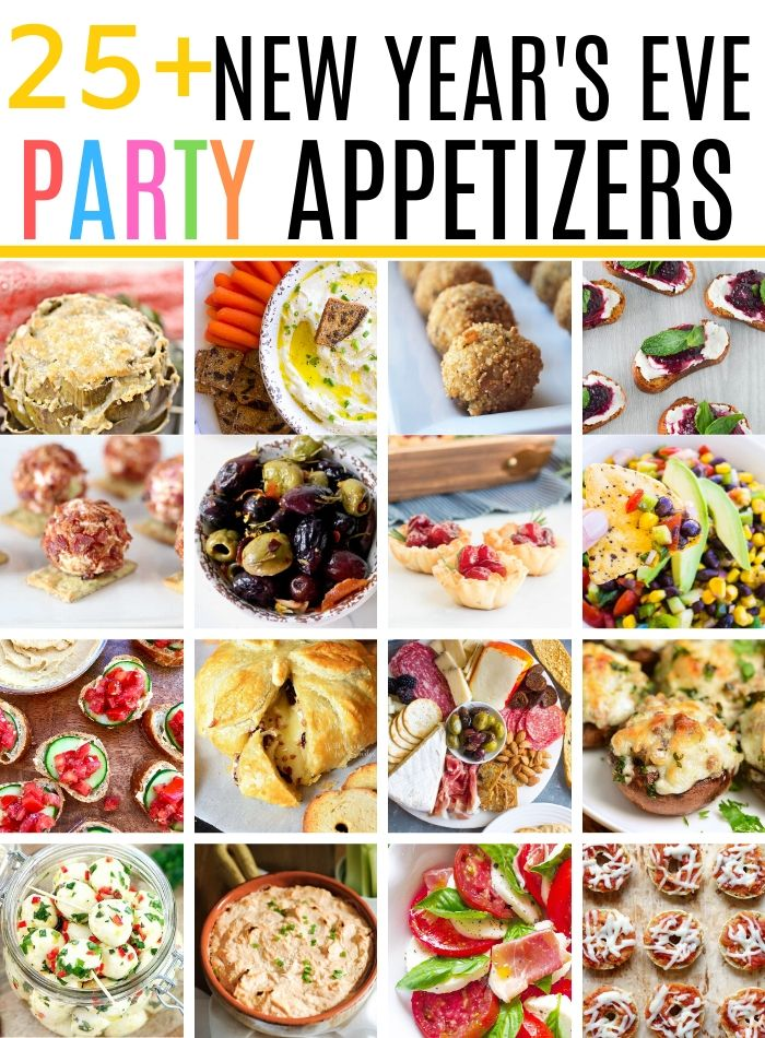 25+ New Years Eve Party Appetizers