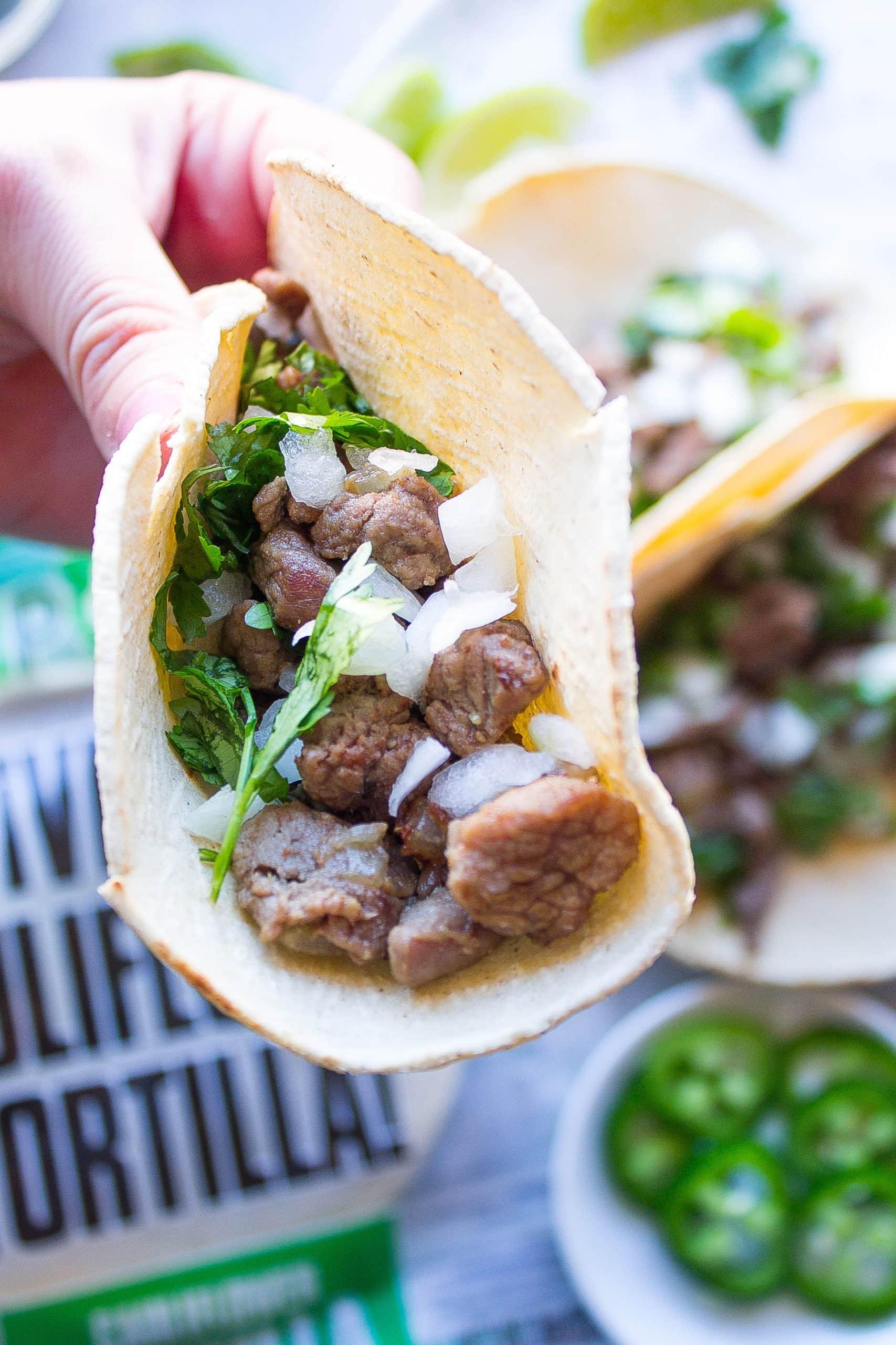 Carne Asade Street Tacos