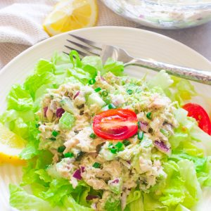 Healthy Avocado Tuna Salad