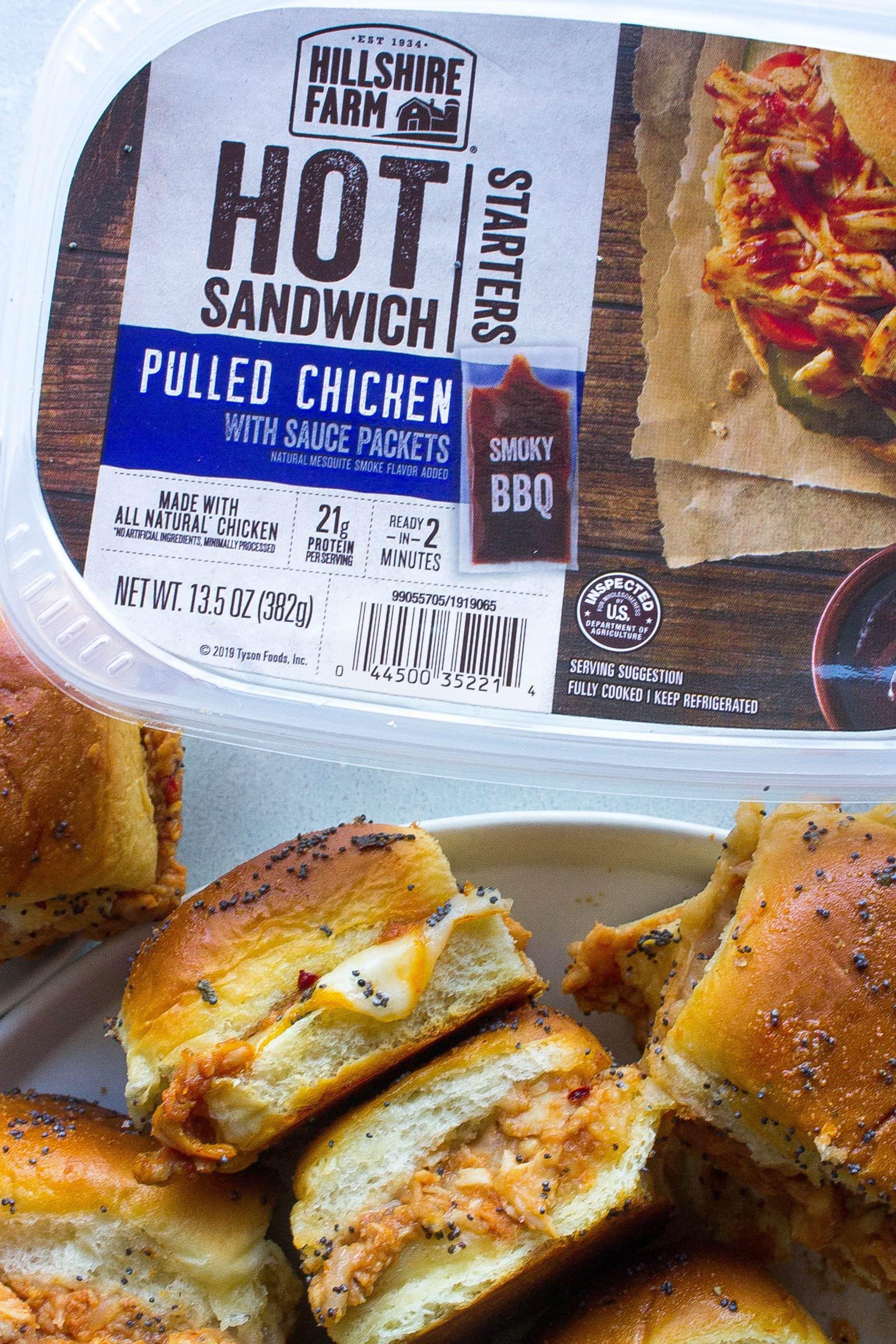 BBQ Pulled Chicken Sliders