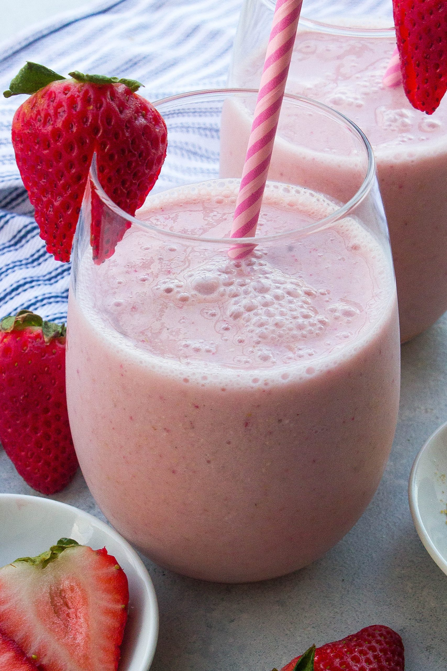 Strawberry Shortcake Protein Smoothie