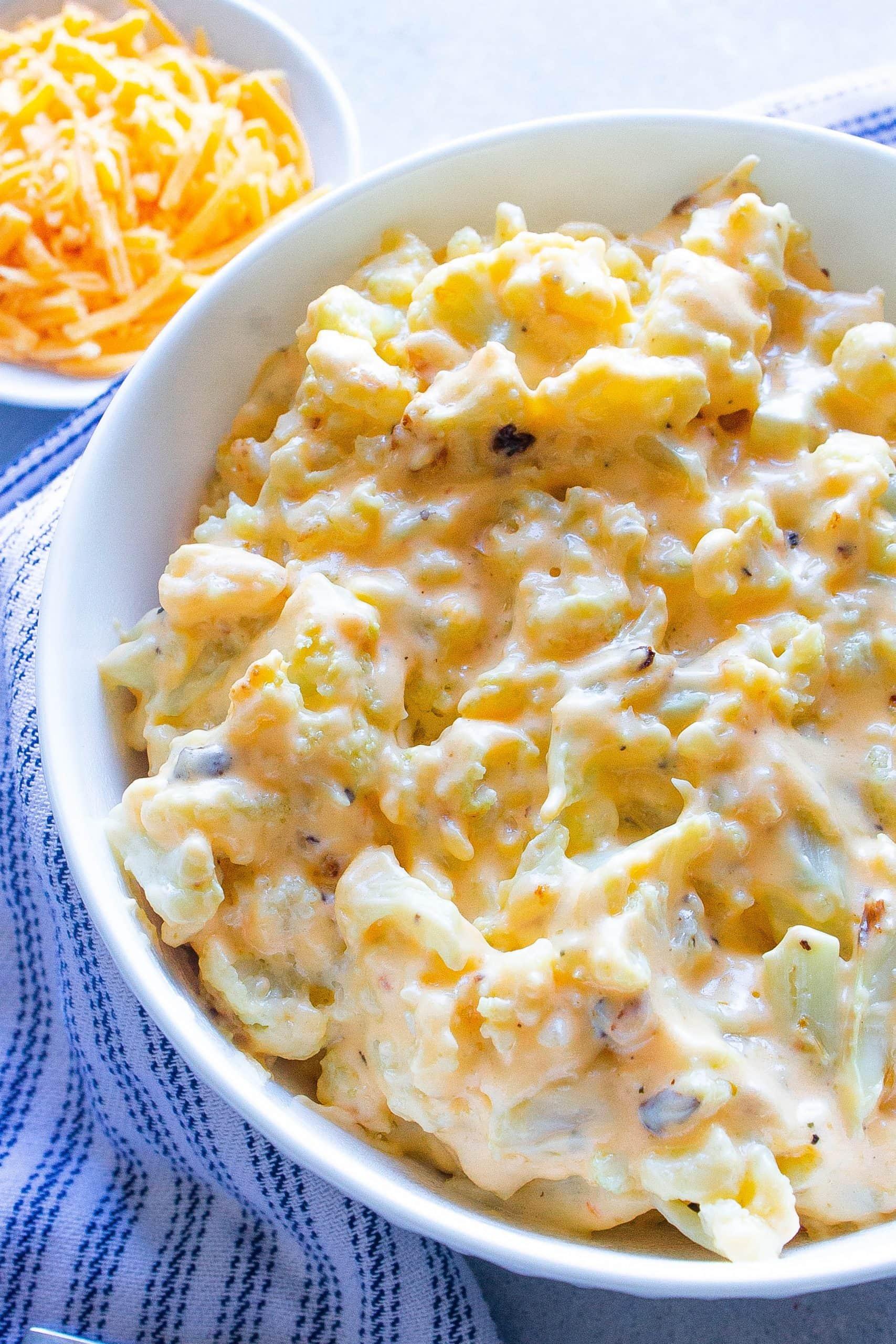 The Best Cauliflower Mac and Cheese