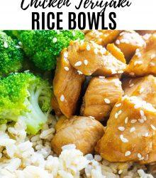 Chicken Rice Bowls