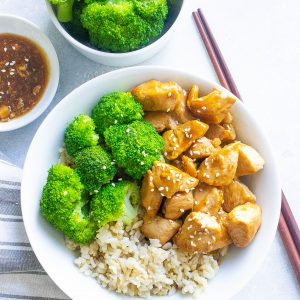 20 Minute Chicken Teriyaki Bowls