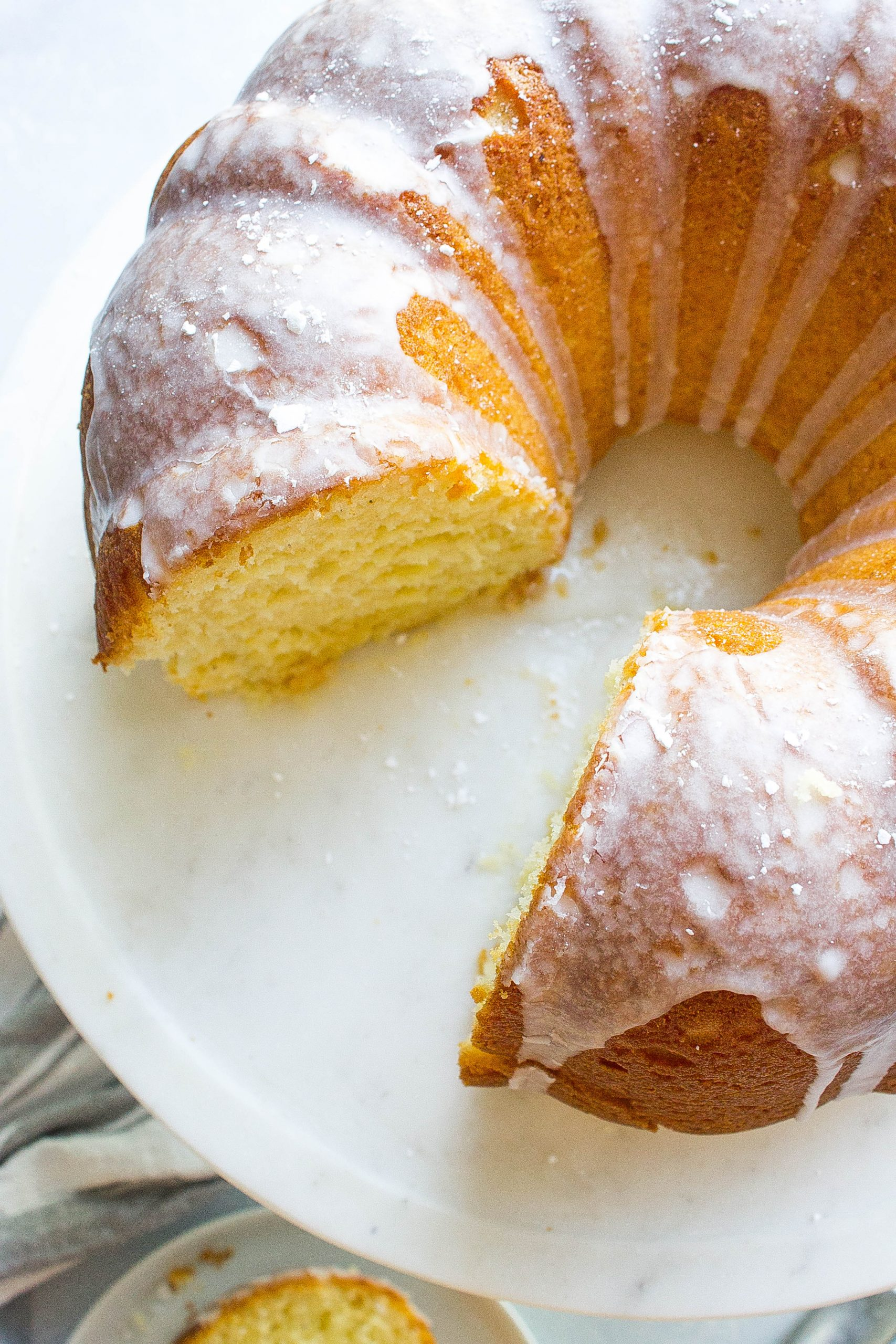 Glazed Buttermilk Donut Cake