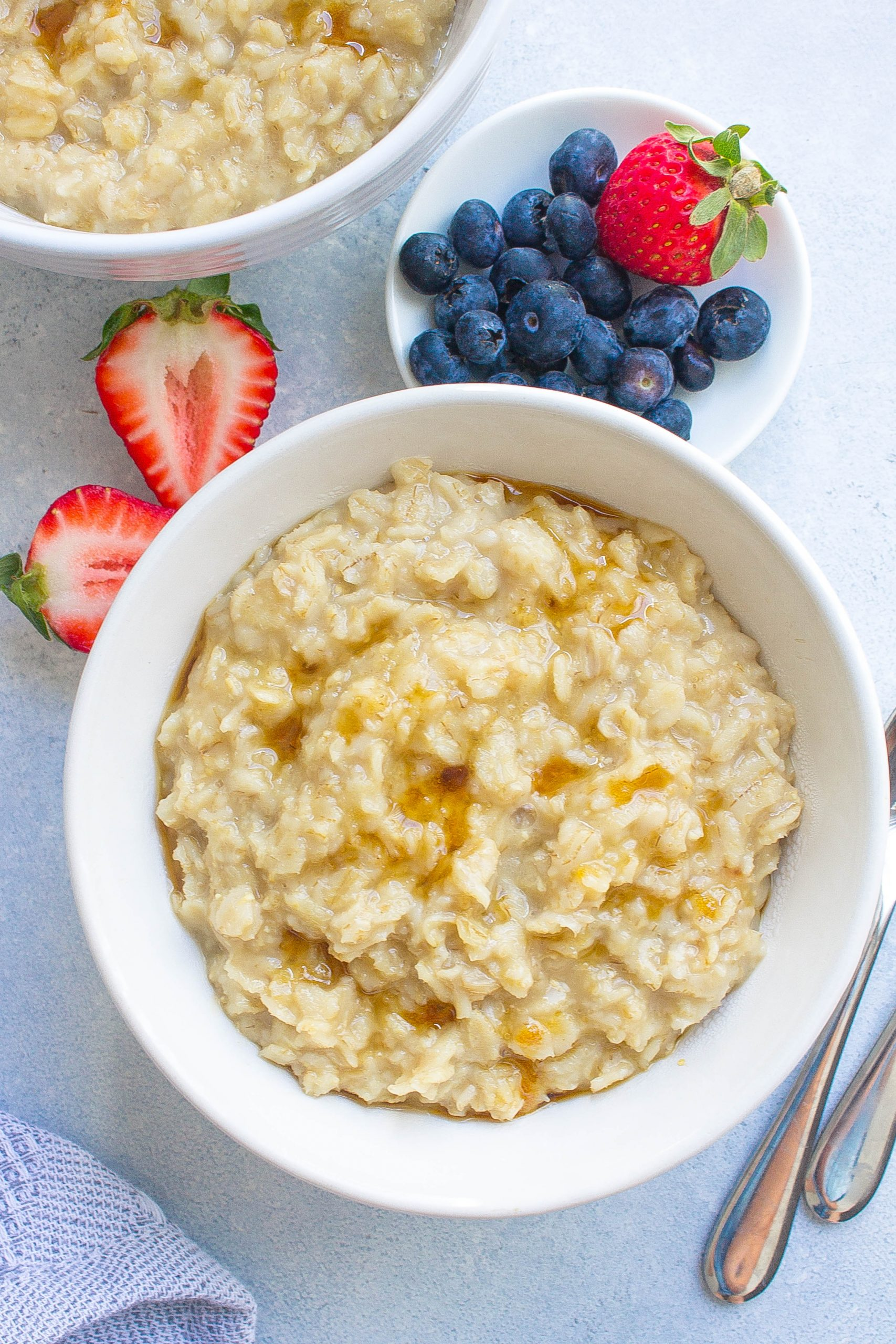 Maple and Brown Sugar Oatmeal