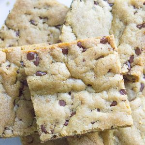 Perfect Chocolate Chip Cookie Bars
