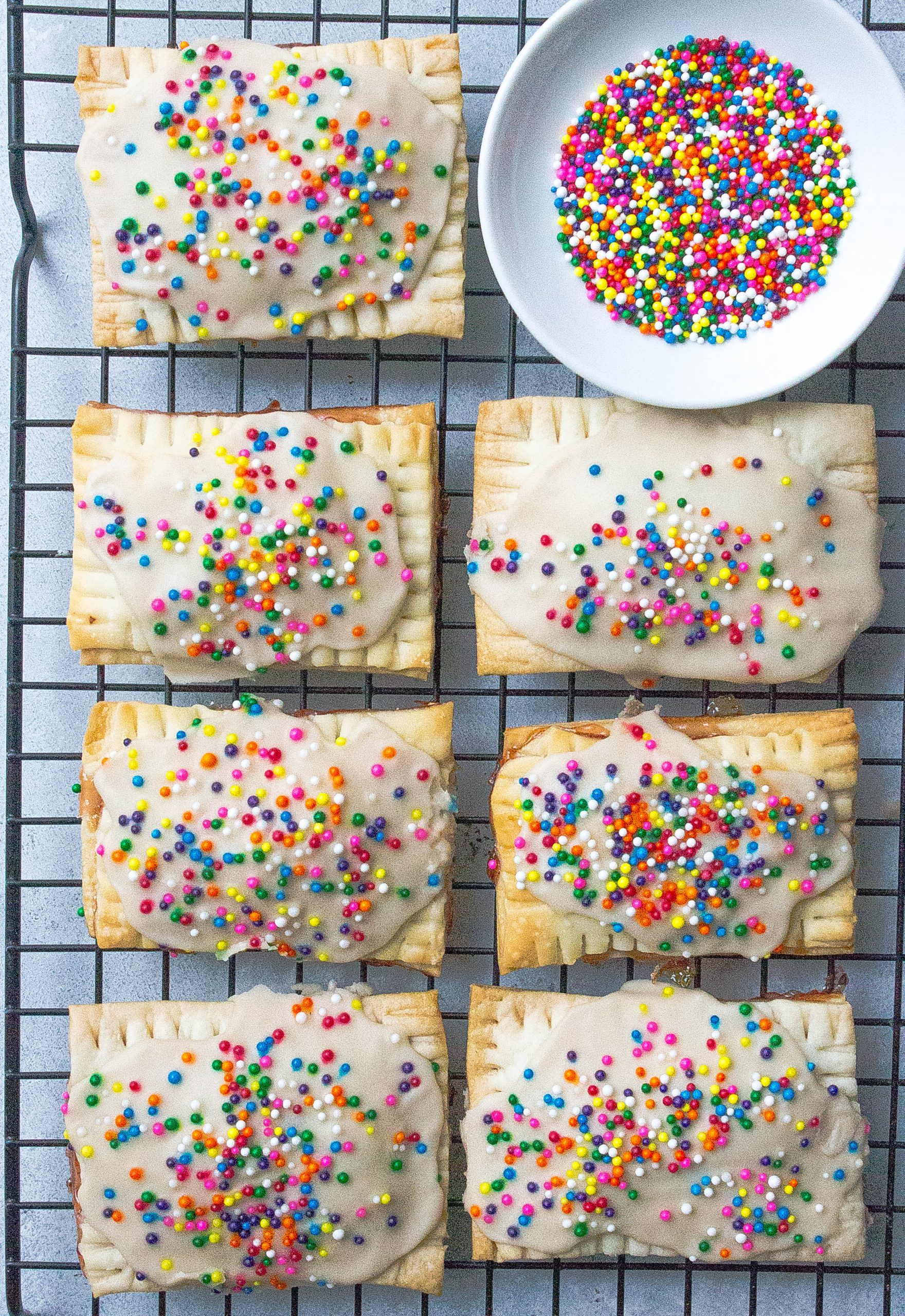Pop Tarts on cooling rack
