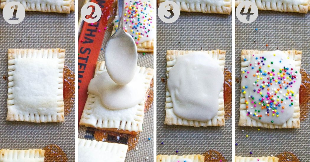 Easiest Homemade Pop Tarts steps